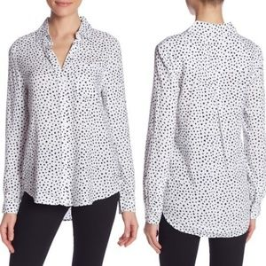 Beachlunchlounge Alana printed button front blouse